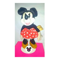 Vintage Wood Minnie Mouse Plush Doll,Minnie Mouse Plushie,Applause, Disneys Minnie Mouse Doll,Wooden Minnie Mouse, Collectible Minnie by JunkYardBlonde on Etsy #disney #minniemouse #collectible #woodenminniemouse #woodfaceminnie #applause #minniemousedoll #minniemouseplush #numbered #1980s #kitsch #nostalgia #disneyworld #waltdisney #disneycollectible