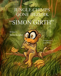 Jungle Chimps Gone Bezurk Cute Characters, Fictional Characters, Fantasy Illustration, Bowser, Writing, Children, Books, Livros, Libros