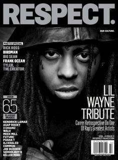 Lil Wayne Coves Respect Magazine- http://getmybuzzup.com/wp-content/uploads/2013/02/res_issue14_lilwaynecover_type8-copy-257x350.jpg- http://gd.is/L8r642