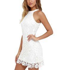 Wodery Le donne pizzo floreale cut-out vestito da cocktail sfera Vestitino Gown: Amazon.it: Abbigliamento