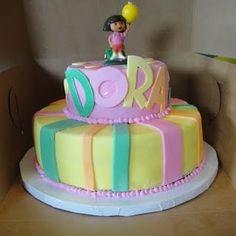 Dora cake ... for Anna :)