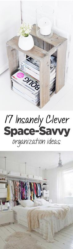 Organization hacks, DIY organization, organizing tips, popular pin, small space organization, small space organization hacks, small space hacks.