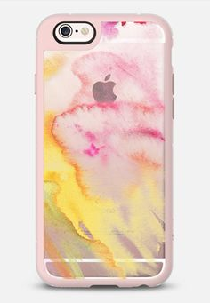 Watercolor mix pink and yellow iPhone 5 6s 7 | Casetify