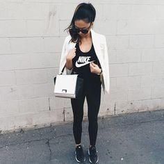 Blessed Sundaze TeamHuarache NikeWomen blendscm blends Forever21 · Gym  OutfitsIt HuaracheSporty ChicFinish LineForever21Nike AirAdidas