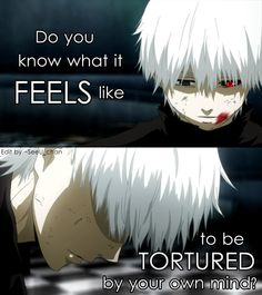 anime quotes (Tokyo ghoul)