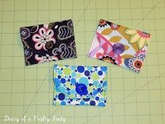 This is one of those projects I LOVE to do, because it is quick andturns out so cute! These adorable little pouches are just the ...