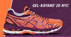 I want this shoe!  Comes out October -  2013 New York City Marathon GEL-KAYANO 20 NYC