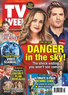 #TVWeek #magazines #covers #August #2016 #television #guide #homeandaway #neighbours #thebachelor #entertainment