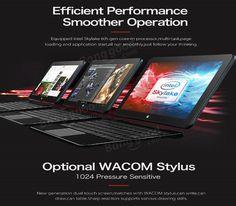 Original Box Cube i7 Book 64GB Intel Core m3 6Y30  10.6 Inch Windows 10 Tablet PC