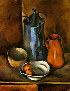 Федоров Герман Васильевич (1885-1976) «Натюрморт» 1919