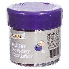 Glitter Powder Canister Craft Supplies Online, Art Supplies, Canisters, Coffee Cans, Powder, Arts And Crafts, Glitter, Creative, Scrapbooking