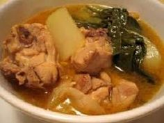 Chicken Tinola (Easy Chicken Recipes with Ginger Stew and Vegetables