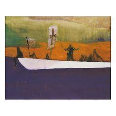 Canoe - Peter Doig - Weng Contemporary  https://www.wengcontemporary.com/shop/product/canoe #peterdoig #canoe #wengcontemporary #buyonline #print #etching