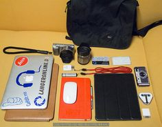 """""""Whats in Your Bag"""" - Small City Version by big-L, via Flickr"""