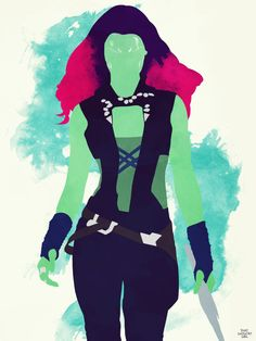 Marvel Guardians of the Galaxy Gamora by thatgregorygirl