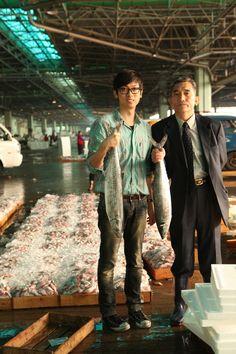 피쉬앤피쉬, 디자인 바다에서 건진 생선