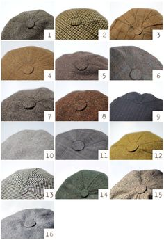 aacc5d1fb0c Black driving cap unisex Pinstripe woolen hat Black red by Nastiin