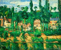 Paul Cézanne - Le Château de Médan