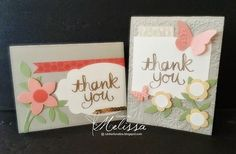 RubberFUNatics: June Card Kit of the Month - Watercolor Thank You