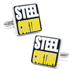 Men's Cufflinks Inc 'Steel Curtain' Cufflinks