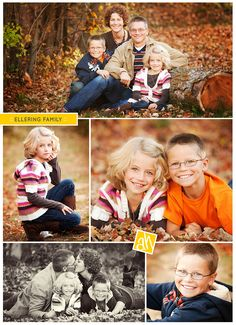 Family Photo Shoot in the Fall ~ you will find lots and lots of family photo…