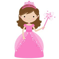 Cute freebie clipart princesses etc {silhouette/clipart}