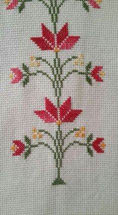 Best 10 Easy 10 Beginner sewing projects projects are readily available on our w. Cross Stitch Borders, Cross Stitch Flowers, Cross Stitch Designs, Cross Stitching, Cross Stitch Embroidery, Hand Embroidery, Canvas Template, Embroidery Patterns, Cross Stitch Patterns