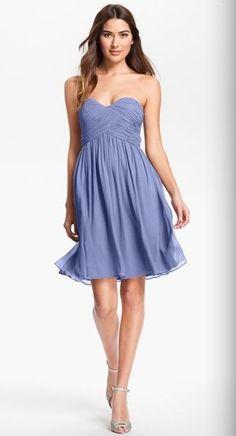 REVEL: Strapless Bridesmaid Dress