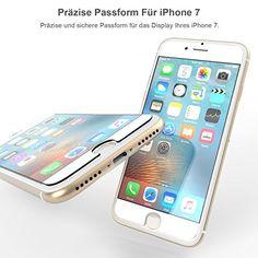 iPhone 7 Panzerglas Folie [2 Pack], von Yousave Accessories [Sicherheitsglas] [3D Touch Kompatibel] 0.3mm Dünn / 9H Härte Grad - http://www.xn--handyhllen-shop-4vb.de/produkt/iphone-7-panzerglas-folie-2-pack-von-yousave-accessories-sicherheitsglas-3d-touch-kompatibel-0-3mm-duenn-9h-haerte-grad/