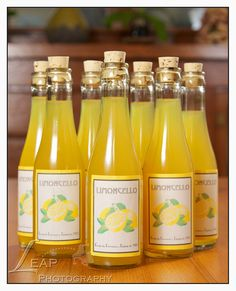 Limoncello, Wedding Favor / {Boise Wedding photographer} | BLOG ...