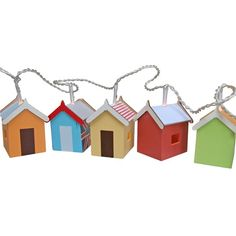 Beach hut lights from Berry Red | Childrens lighting - 10 of the best | Childrens room | PHOTO GALLERY | Housetohome.co.uk