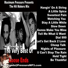 Loose Ends Old School Classics The Hit Makers Mixtape CD Compilation #ClassicRB