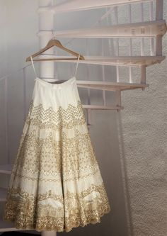 Looking for Bridal Lehenga for your wedding ? Dulhaniyaa curated the list of Best Bridal Wear Store with variety of Bridal Lehenga with their prices Indian Dresses, Indian Outfits, Indian Clothes, Gold Lehenga, Lehenga Choli, Anarkali, Wedding Attire, Wedding Dresses, Wedding Lenghas