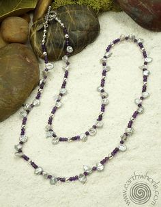 Amethyst & Pearl Necklace