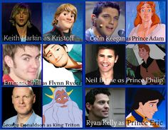 Celtic Thunder lads as Disney Princes. Because this (an updated version) was needed. Honestly, I didn't know which board to pin this to!