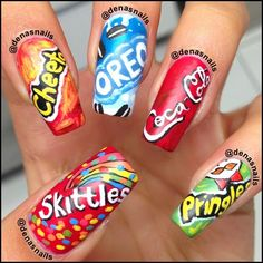 16 Crazy nail art designs - Fashion Te