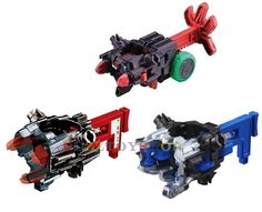 LOT OF 3PCS TAKARA TOMY CROSS FIGHT B-DAMAN TUNE-UP GEAR CORE #TakaraTomy