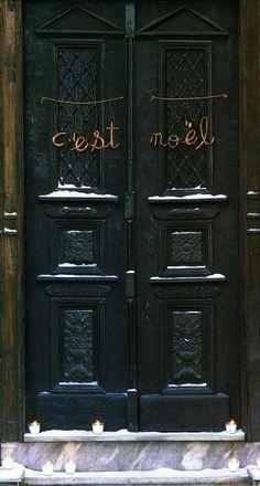 c'est noel - image from Marie Claire Maison (circa 2010)