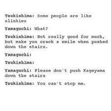 Image result for tsukki x yamaguchi
