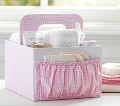 Diaper caddy... great for grandparents house!
