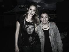 Con La hermosa Laurita Mayolo
