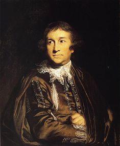 Joshua Reynolds portrait of David Garrick