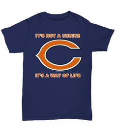 Way Of Life Chicago Football Tee Shirt