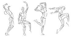 Gesture Drawing 101 - Have you wondered how to teach your students (or yourself) gesture drawing? Follow these steps for quick and easy gesture drawings.