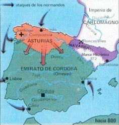 Enlaces externos a mapas históricos de España