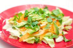 Hämmentäjä: Make ahead lunch salad. Edellisenä päivänä valmistuva lounassalaatti