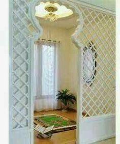 47 Praying Room Interior Design That You Can Try In Your Home # Design Interior Design Living Room, Living Room Decor, Prayer Corner, Islamic Decor, Ramadan Decorations, Prayer Room, Deco Design, House Design, House Styles