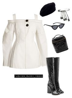 A fashion look from September 2017 featuring open shoulder top, block heel boots and vintage hats. Browse and shop related looks. Stage Outfits, Edgy Outfits, Korean Outfits, Classy Outfits, Girl Outfits, Fashion Outfits, Fashion Trends, Kpop Fashion, Teen Fashion