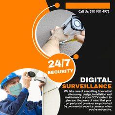 Video Security, Cctv Security Cameras, Security Camera System, Security Cameras For Home, Surveillance Equipment, Surveillance System, Ip Camera System, Cctv Camera Installation, Access Control