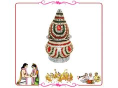 Wedding Kalash, Buy Wedding Kalash online from India.